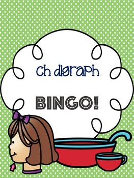 Ch Digraph Bingo [10 playing cards]