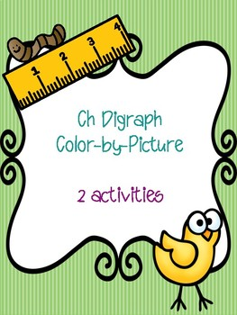 Ch Digraph Color-by-Picture