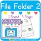 Ch Digraph Sorting File Folders: Get 3 for 2
