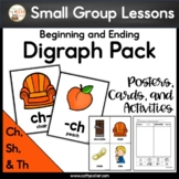 Ch, Sh, and Th Digraph Pack