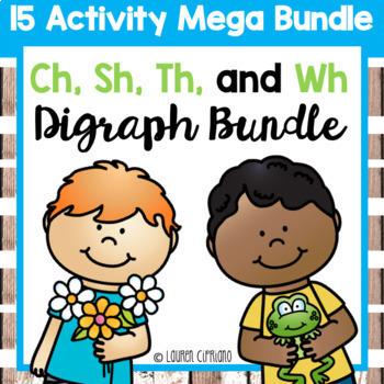 Ch Sh Th Wh Digraph Activity Mega Bundle
