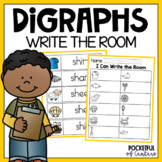 Ch, Sh, Th, Wh Digraphs - Write the Room