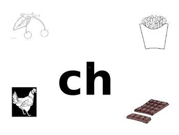 'Ch' Sound Mini-book