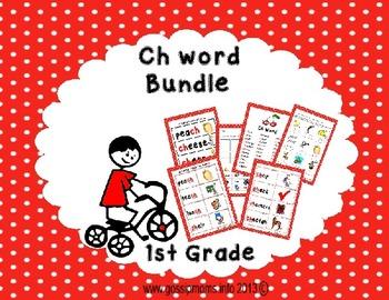 Ch Sound Word Bundle