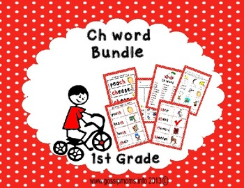 Ch Sound Word Bundle
