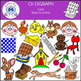Ch Sounds (Digraph): Beginning Sounds Clip Art