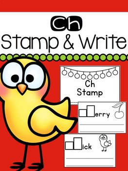 Ch Stamp and Write Book