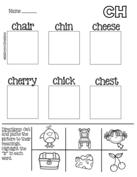 CH Digraph: Picture Sort