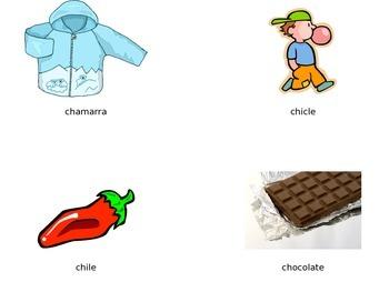 Ch ch vocabulario