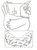 Ch phonics chicken