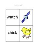 Ch, tch Memory (Matching) Game
