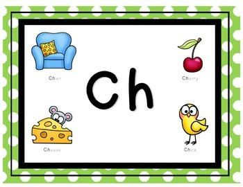 Ch word work activities