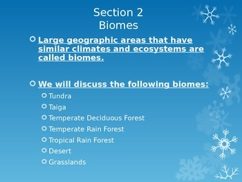 Ch.6- Biomes