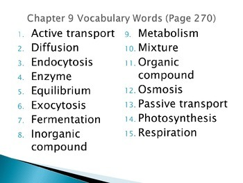 Ch.9- Chemistry of Life