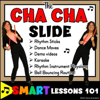 Cha Cha Slide Music Activities: Dance Lesson Plan Rhythm