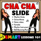 Cha Cha Slide Music Activities: Dance Lesson Plan Rhythm Activities Rhythm Stick