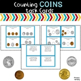 Coins Task Cards