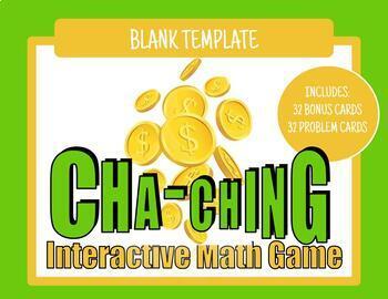 Cha-Ching Game - Editable Template