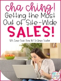 Cha-Ching! Get the Most Out of Sitewide Sales