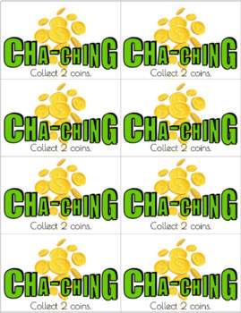Cha-Ching Math Game - Adding & Subtracting Integers