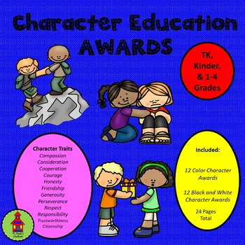 Character Education Awards