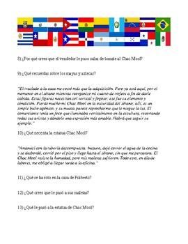 Chac Mool por Carlos Fuentes (reading using chunking technique)