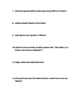 Chac Mool writing test
