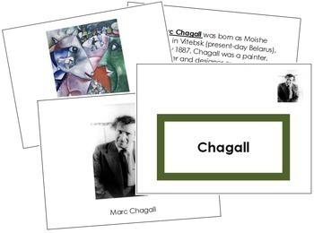 Chagall (Marc) Art Book - Color Border