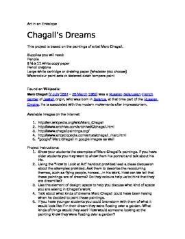 Chagall's Dreams
