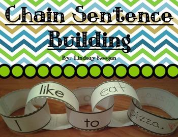 Building Sentences - Chain Sentence Building