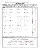 Chain Letters2 Algebra Equation Puzzle Sub Plans, Seatwork, First Day Warm Up