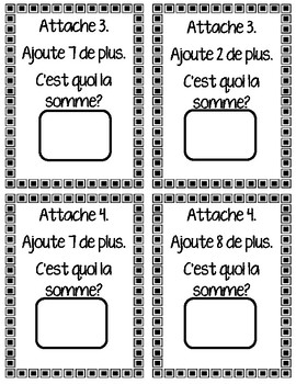 Chain Link Addition (in French)