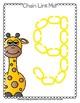 Chain Link Manipulative Mats Upper & Lower Case Letters  Fine Motor Work