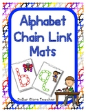 Chain Link Manipulative Mats Upper & Lower Case Letters  F