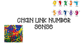 Chain Link Number Sense Cards