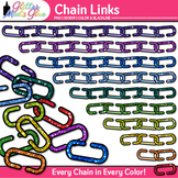 Chain Link Clip Art | Counting and Sorting Manipulatives for Math Centers