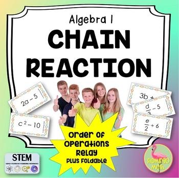 Chain Reaction Activity plus Foldable