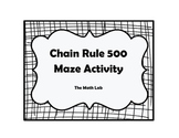 Chain Rule 500 Maze Activity