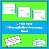 Chain Rule Differentiation Scavenger Hunt