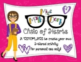 Chain of Hearts: 3-tiered activity Template for Personal Use Only