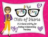 Adding & Subtracting Fractions: Chain of Hearts - a 3-tiered activity