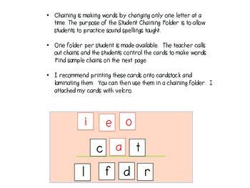 Chaining Folder Letters