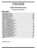Chains Book Club/Literature Circle Comprehensive Materials