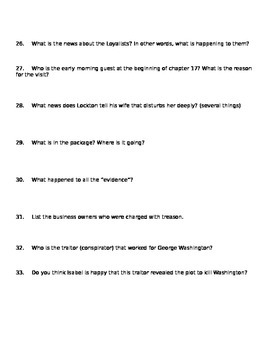 Chains Comprehension Questions Ch. 13-17