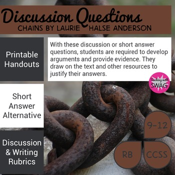 Chains Discussion Questions Short Answer Questions