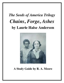 """""""Chains,"""" """"Forge,"""" and """"Fever"""" by Laurie Halse Anderston; Sudy Guides"""