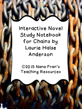Chains Interactive Novel Study Guide