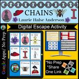 Chains Laurie Halse Anderson Activity Digital Escape Room