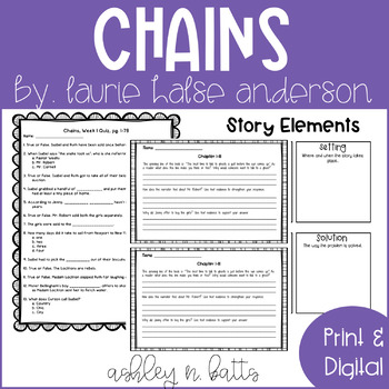 Chains Novel Study