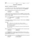 Chains Part I Assessment